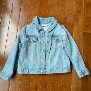 OLD NAVY toddler light wash denim jacket